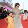 Sophia Abraham 'J'Accuse' (An Officer And A Spy) Red Carpet Arrivals - The 76th Venice Film Festival