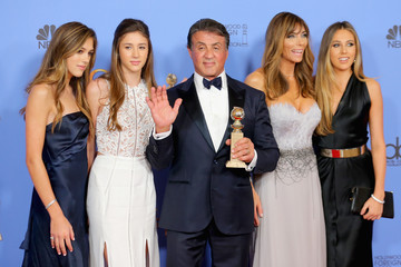 Sophia Stallone 73rd Annual Golden Globe Awards - Press Room