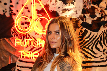 Sophia Thomalla 'Moose Knuckles at Breuninger: The Future Tribe Party' in Duesseldorf