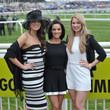 Sophie Austin Fashion And Celebrities At Aintree - Day 3 - Grand National Day