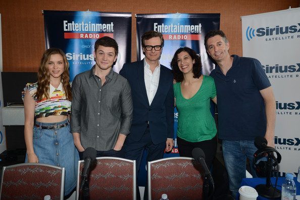 Exclusive Colin Firth Taron Egerton And Sophie Cookson: Sophie Cookson And Taron Egerton Photos Photos
