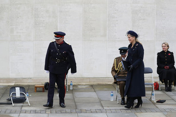 Sophie Earl Of Wessex Remembrance Day At The National Arboretum