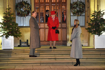 Sophie Earl Of Wessex The Duke And Duchess Of Cambridge Visit Communities Across The UK