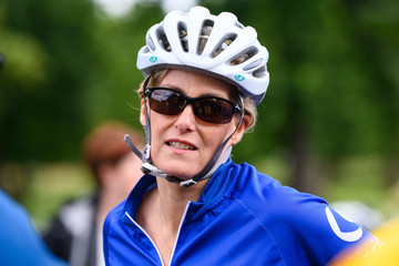 Sophie The Countess Of Wessex Joins Tandem Bike Ride With Vision Foundation