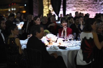 Sophie Marceau Kering Official Cannes Dinner - Inside - The 68th Annual Cannes Film Festival