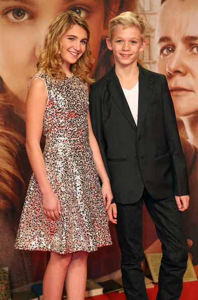 Sophie Nelisse and Nico Liersch Photos Photos - 'The Book Thief ...