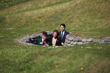 Sophie Trudeau The Centenary Service to Commemorate the Battle of Vimy Ridge