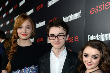 Sophie Turner Isaac Hempstead Wright The Entertainment Weekly Celebration Honoring This Year's SAG Awards Nominees Sponsored By TNT & TBS And essie - Red Carpet