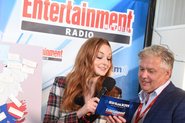Sophie Turner SiriusXM's Entertainment Weekly Radio Channel Broadcasts From Comic Con 2017 - Day 2