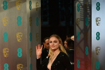 Sophie Turner EE British Academy Film Awards