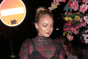 Sophie Turner Dines With Friends At Sexy Fish In London