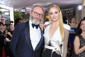 Sophie Turner FIJI Water at the 74th Annual Golden Globe Awards