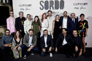 Cast and crew attend 'Sordo' premiere at the Capitol cinema on September 11, 2019 in Madrid, Spain.