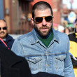 Zachary Quinto showed off his new 'do.
