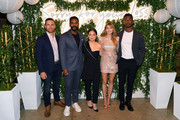 "(L-R) Zack Robidas, Jovan Adepo, Kelly Marie Tran, Elizabeth Olsen, and Mamoudou Athie attend the ""Sorry For Your Loss"" season 2 premiere event at NeueHouse Los Angeles on October 01, 2019 in Hollywood, California."