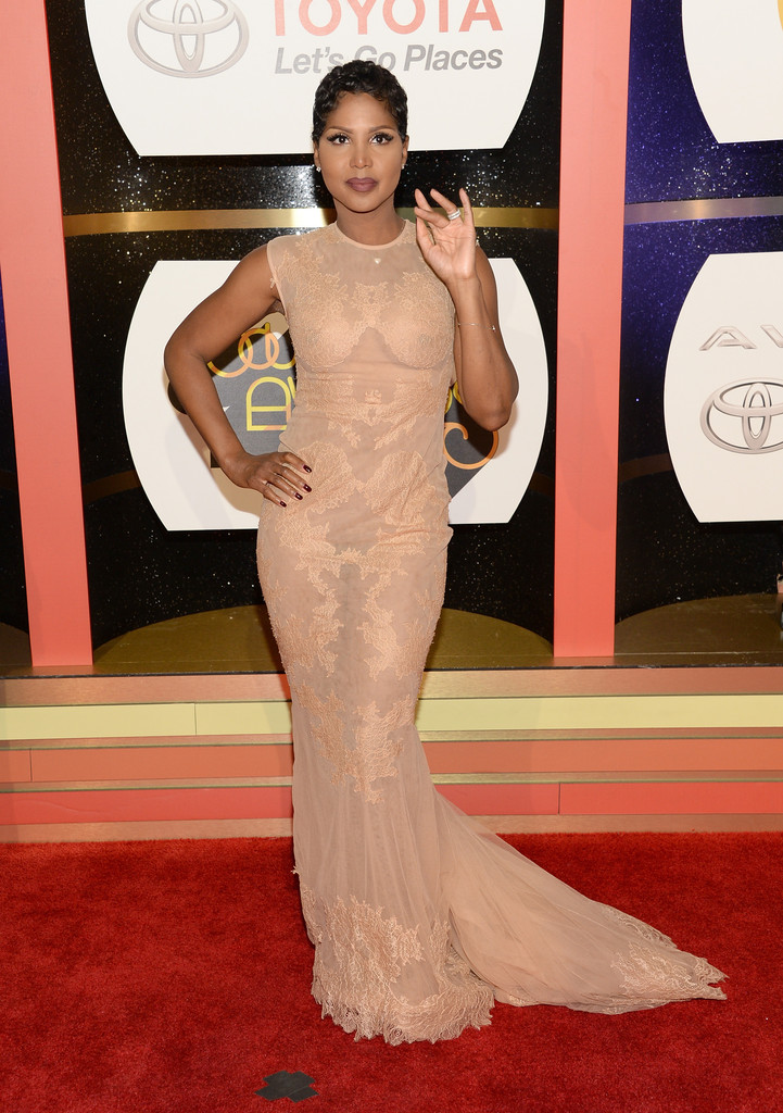 Singer/songwriter Toni Braxton attends the Soul Train Awards 2013 at the Orleans Arena on November 8, 2013 in Las Vegas, Nevada.