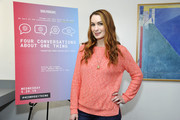"""Felicia Day attends SoulPancake's """"Four Conversations about One Thing"""" at Hammer Museum on May 29, 2019 in Los Angeles, California."""