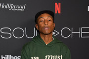 Pharrell Williams attends Soundcheck: A Netflix Film and Series Music Showcase on November 04, 2019 in Los Angeles, California.