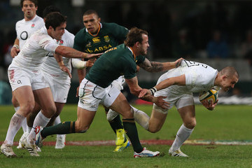 Francios Hougaard South Africa v England - First Test