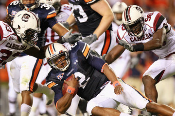 Cameron Newton South Carolina v Auburn