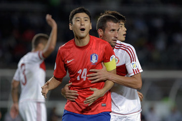 Lee Jung-Soo South Korea v Lebanon - FIFA World Cup Asian Qualifier
