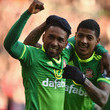 Jermain Defoe and Patrick van Aanholt Photos