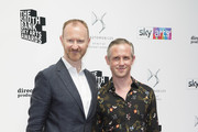 Mark Gatiss and Ian Hallard attends The Southbank Sky Arts Awards 2018 at The Savoy Hotel on July 1, 2018 in London, England.