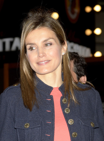 Princess Letizia of Spain attends the 'Alimentaria' gastronomic fair at the Fira Gran Via 2 on March 31, 2014 in Barcelona, Spain.