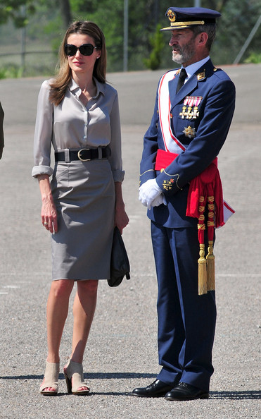Spanish Royals Attend Graduation of Military Officer School in Talarn