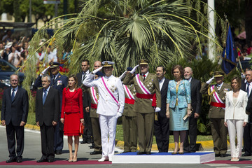Francisco de la Torre Spanish Royals Attend 'National Army Day' 2011 in Malaga