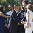 Felipe VI of Spain and Nadine Heredia Alarcon Photos