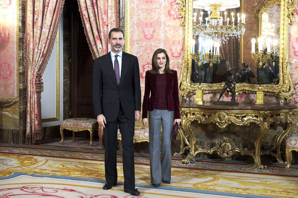 Spanish Royals Meet 'Princesa De Girona' Foundation ...