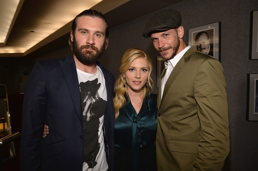 Katheryn Winnick and Clive Standen Photos Photos - Special