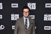 """Josh McDermitt attends the Season 10 Special Screening of AMC's """"The Walking Dead"""" at Chinese 6 Theater– Hollywood on September 23, 2019 in Hollywood, California."""