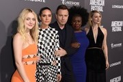 """(From left) Actors Dakota Fanning, Jennifer Connelly, Ewan McGregor, Uzo Aduba and Valorie Curry attend a special screening of Lionsgate's """"American Pastoral,"""" October 13, 2016 at the Samuel Goldwyn Theater in Beverly Hills, California. / AFP / Robyn Beck"""