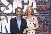 """Lev L. Spiro and Melissa Rosenberg attend a Special Screening Of Netflix's """"Jessica Jones"""" Season 3  at ArcLight Hollywood on May 28, 2019 in Hollywood, California."""