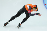 Stefan Groothuis of the Netherlands competes during the Men's 1500m Speed Skating event on day 8 of the Sochi 2014 Winter Olympics at Adler Arena Skating Center on February 15, 2014 in Sochi, Russia.