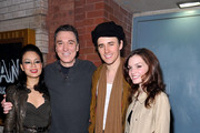 """(L-R) Actors T.V. Carpio, Patrick Page, Reeve Carney and Jennifer Damiano """"Spider-Man Turn Off the Dark"""" Return to Broadway first preview performance at the Foxwoods Theatre on May 12, 2011 in New York City."""