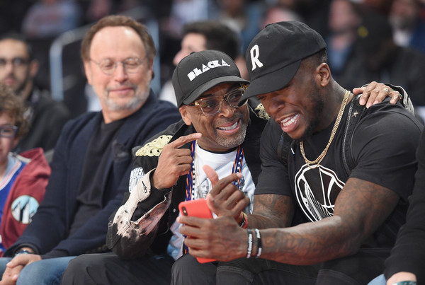 a082df9b5 Spike Lee and Billy Crystal Photos Photos - Taco Bell Skills ...