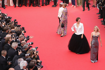 Spike Lee Maggie Gyllenhaal 'Invisible Demons' Red Carpet - The 74th Annual Cannes Film Festival