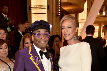 Spike Lee Tonya Lewis Lee 92nd Annual Academy Awards - Executive Arrivals
