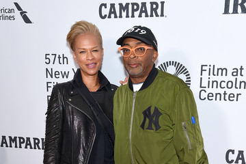 Spike Lee Tonya Lewis Lee 57th New York Film Festival - 'The Irishman' Arrivals