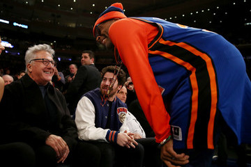 Spike Lee San Antonio Spurs v New York Knicks