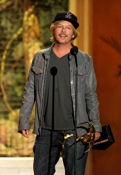 "Actor David Spade presents the Comedy MVP award onstage during Spike TV's 5th annual 2011 ""Guys Choice"" Awards at Sony Pictures Studios on June 4, 2011 in Culver City, California."
