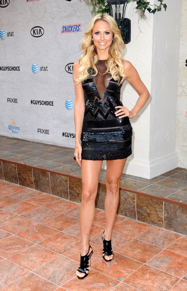 "Actress Stacy Keibler arrives at Spike TV's 5th annual 2011 ""Guys Choice"" Awards at Sony Pictures Studios on June 4, 2011 in Culver City, California."