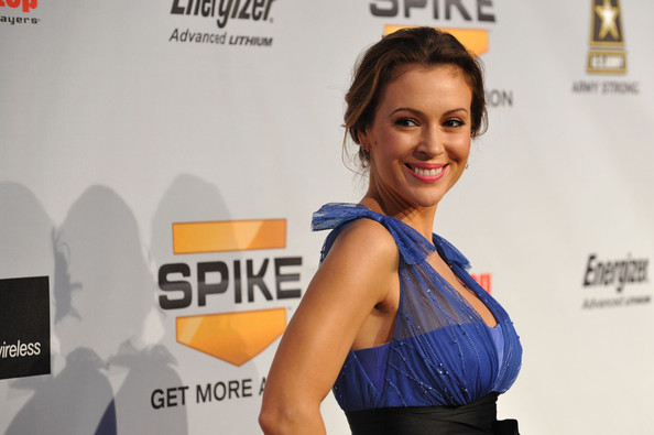 Alyssa+Milano in Spike TV's 7th Annual Video Game Awards 2009 - Arrivals