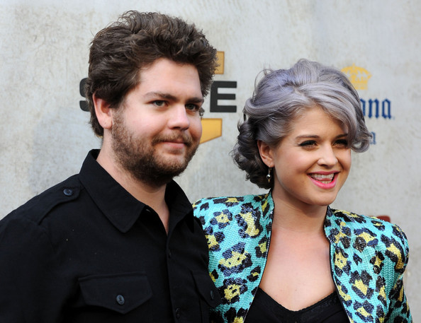 "Kelly Osbourne TV personality Jack Osbourne and musician Kelly Osbourne arrive at Spike TV's 4th Annual ""Guys Choice Awards"" held at Sony Studios on June 5, 2010 in Los Angeles, California."
