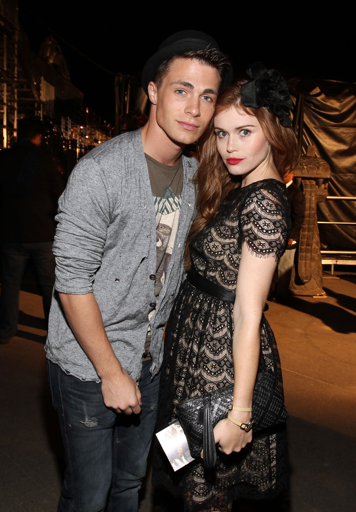 colton haynes and holland roden photos photos spike tvs