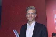 Marcel Kittel wins Surprise of The Year award during the Sport Bild Award at the Fischauktionshalle on August 21, 2017 in Hamburg, Germany.