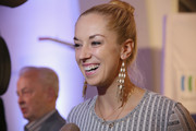 Sabine Lisicki attends the party of Sport-Informations-Dienst (SID), who celebrates his 70th Birthday at their editorial office  on October 29, 2015 in Cologne, Germany.